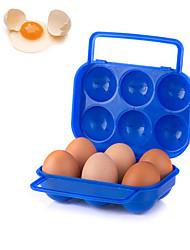 abordables -caja de huevo de plástico portátil al aire libre