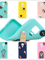 cheap -Case for Huawei scene map Huawei P30 P30 Pro P30Lite Mate 30 Lite New Candy-colored DIY3D Patch Thickened Matte TPU All Inclusive Mobile Phone Case SZ