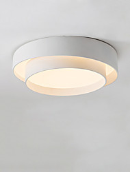 cheap -40 cm Geometric Shapes Flush Mount Lights Metal Geometrical Painted Finishes LED / Nordic Style 110-120V / 220-240V
