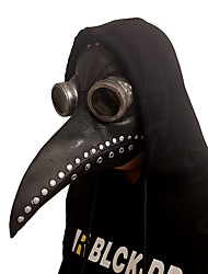 cheap -Plague Doctor Mask Men's Polyester Brown Black Gray 1pc / pack Adults Sports & Outdoor
