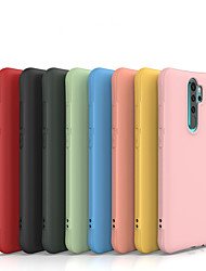 cheap -Case for Xiaomi scene map Redmi Note 8 Note 8 Pro Note 7 New Candy-colored Thickened Matte TPU Material Small Waist Four Corners All-inclusive Mobile Phone Case WL