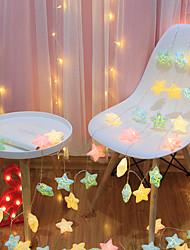 cheap -LED Crack Star Lights String Lights Flashing Lights Battery Starry Christmas Dormitory Wedding Decoration