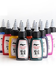 cheap -ITATOO Tattoo Ink 14*30 ml Safety / Kits / Tools - Red / Black / White