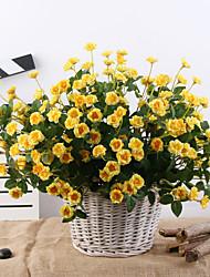 Недорогие -Искусственная роза обеденный стол цветочные украшения висячие корзины украшения цветок