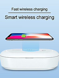 cheap -10W Wireless charging chargermultifunctional UV sterilization box mobile phone wireless charging for mask