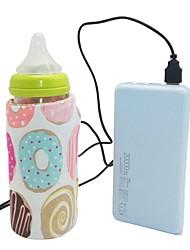 Недорогие -Портативный USB молоко подогреватель воды путешествия коляска изолированный мешок быстро ребенок бутылочка для кормления нагреватель детское питание молоко открытый кубок