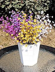 Недорогие -Моделирование сливы филиал длинные ветви цветок сливы филиал дома гостиная исследование поддельные украшения из цветов