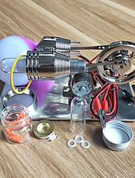 Недорогие -Двигатель Стирлинга Модель двигателя Выставочные модели Машина Веселье Своими руками Детские Игрушки Подарок