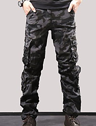 cheap -Men's Basic Tactical Cargo Pants - Camouflage Black Blue Army Green US32 / UK32 / EU40 / US34 / UK34 / EU42 / US36 / UK36 / EU44