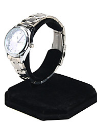 cheap -Jewelry Box - Leather Black, Silver 8.5 cm 8.5 cm 10 cm / Women's