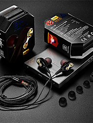 cheap -QKZ Tingsheng CK8 Explosion In-Ear Double-Motion Running Game Music Headphones HIFI Headphones