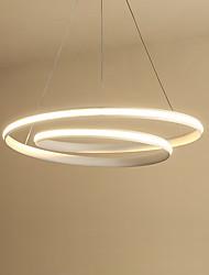 cheap -feimiao 60 cm Circle Design Pendant Light Aluminum Silica gel Painted Finishes Modern / Nordic Style 110-120V / 220-240V