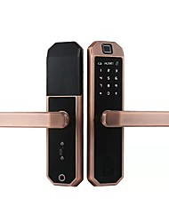 cheap -Zinc Alloy lock / Intelligent Lock / Card Lock Smart Home Security System RFID / Password unlocking / Mechanical key unlocking Household / Home / Home / Office Others / Wooden Door / Composite Door