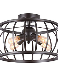 cheap -Absorb Dome Light American Restore Ancient Ways Industrial Wind Sitting Room Corridor Corridor Porch Day Flower Lamp Bedroom E26/27 Lamps And Lanterns