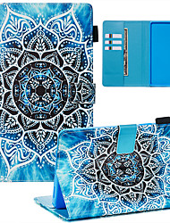 cheap -Case & Pen For Samsung Galaxy Samsung Tab A 8.0(2019)/ E 8.0 /A 7.0 / A8(2019)P200/205 Dustproof / with Stand / Flip Back Cover sky PU Leather