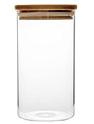 Недорогие -1шт Коробки для хранения стекло Ящики и коробки На каждый день # кухня для хранения