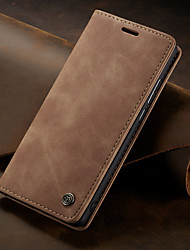 cheap -CaseMe Retro Business Leather Magnetic Flip Case For Huawei P30 / P30 Pro With Wallet Card Slot Stand Case Cover
