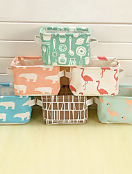 cheap -Fabrics Storage Cloth Organizers Rectangle New Design Geometric Pattern Lovely Home Organization Storage box1pc