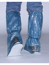 cheap -Plastic PVC Transparent Shoe Cover Waterproof Outdoor Red / Blue / Khaki