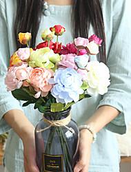 Недорогие -Искусственный цветок lulian украшения дома свадьба с цветами в руках