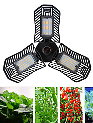 cheap -Grow Light LED Plant Growing Light LED Full Spectrum Plant Light E27/E26 Deformable Folding Plant Light 50W adjustable Plant Light AC100-240V