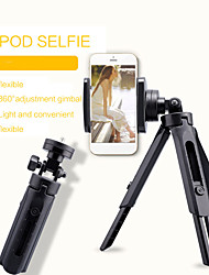 cheap -Protable Flexible Selfie Stick Tripod Phone Camera Stand Holder 360 Degree Rotation For iPhone SamSung Xiaomi OnePlus