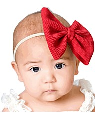 cheap -Kids / Toddler / Newborn Unisex / Girls' Basic / Sweet Patchwork / Solid Colored Nylon Hair Accessories Black / Wine / White One-Size