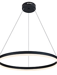 cheap -80 cm Circle Design Pendant Light Aluminum Painted Finishes LED / Modern 110-120V / 220-240V