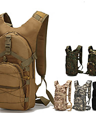 cheap -15 L Hiking Backpack Military Tactical Backpack Breathable Straps - Multifunctional Waterproof Rain Waterproof Heat Insulation Outdoor Camping / Hiking Hunting Ski / Snowboard Nylon Oxford Digital