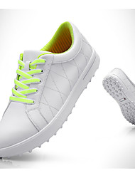 cheap -Women's Golf Shoes Waterproof Breathable Anti-Slip Comfortable Golf Autumn / Fall Spring Yellow Pink Green Blue