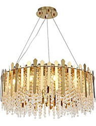 cheap -QIHengZhaoMing 60 cm Single Design Chandelier Metal Electroplated Modern 110-120V / 220-240V