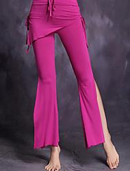 cheap -Belly Dance Bottoms Women's Performance Polyester Split Pants