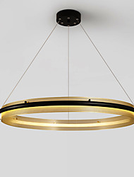 cheap -ZHISHU 45 cm Circle Design Pendant Light Metal Acrylic Circle Electroplated Nature Inspired / Nordic Style 110-120V / 220-240V