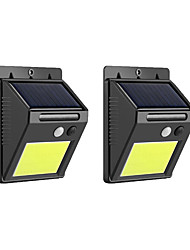 cheap -2pcs 5 W Led Street Light / Solar Wall Light Waterproof / Solar Powered / New Design White 1.2 V Outdoor Lighting / Swimming pool / Courtyard 48 LED Beads