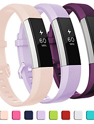 cheap -Watch Band for Fitbit Alta HR / Fitbit Ace / Fitbit Ace 2 Fitbit Sport Band Silicone Wrist Strap