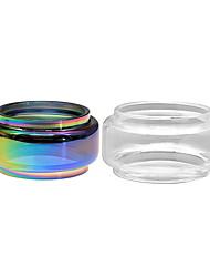 Недорогие -Толстая стеклянная трубка yuhetec для Smok Stick V9 Макс стартовый комплект распылитель 2шт