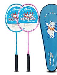 cheap -Badminton Racket 2pcs Children's Kid's Aluminum Alloy Ultra Light Indoor And Outdoor