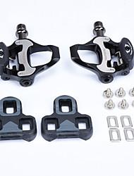 cheap -WAKE® Bike Pedals Cycling Anti-Slip 2 Bearing Aluminum Alloy for Cycling Bicycle Road Bike Mountain Bike MTB Black