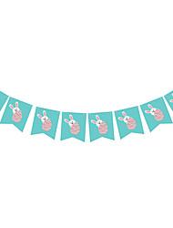 cheap -Banner & Runner Hard Card Paper 1 Piece Easter