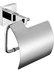 cheap -Mirror Polished Silver Toilet Paper Holder Tissue Holder Rustproof SUS304 Stainless Steel Bathroom Accessories High Quality