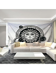 cheap -Custom Tapestry painting sun god moon god suitable for bedroom living room Party activities  Vegas Theme Wall Decor   Wall Art  Wall Tapestries Decoration M(150*120cm)