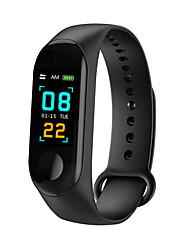 cheap -M3 Unisex Smart Wristbands Android iOS Bluetooth Waterproof Touch Screen Heart Rate Monitor Blood Pressure Measurement Sports ECG+PPG Pedometer Activity Tracker Sleep Tracker Sedentary Reminder