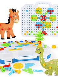 Недорогие -Конструкторы Игрушки 130 pcs Динозавр совместимый Legoing Электроника Мальчики и девочки Игрушки Подарок / Детские
