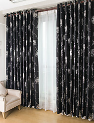 cheap -Two Panel European-Style Minimalist Style Full Shading Thermal Insulation Curtains Living Room Bedroom Children's Room Home Curtains