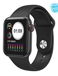 cheap -JSBP W58 Smart Watch Smart Bracelet Oximetry Blood Pressure Heart Rate Meter Step Temperature Measurement 2Pcs Disposable Mask