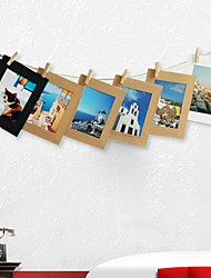cheap -Modern Contemporary Acetate Multi-Ply Picture Frames Wall Decorations, 1pc Picture Frames