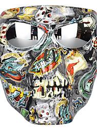 Недорогие -маска мотоцикла очки очки черепа езда ветрозащитные очки маска хэллоуин