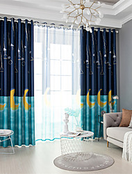 cheap -Gyrohome 1PC Moon Shading High Blackout Curtain Drape Window Home Balcony Dec Children Door *Customizable* Living Room Bedroom Dining Room