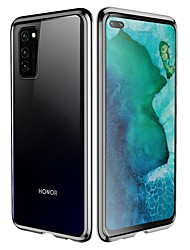 cheap -Double Sided Magnetic Case For Huawei Nova 6 /Honor V30 /P Smart Z Shockproof / Transparent Tempered Glass / Metal Case For Huawei Mate 30 Pro / Honor 9X Pro / Y9 Prime (2019) / Honor 20 pro/ Honor 8X