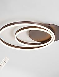 cheap -Modern Ceiling Light 2 Led Rings LED Flush Mount Lighting for Living Bed Room Kitchen Lamp 45cm